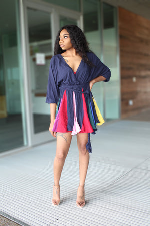 Under The Rainbow | Mini Dress