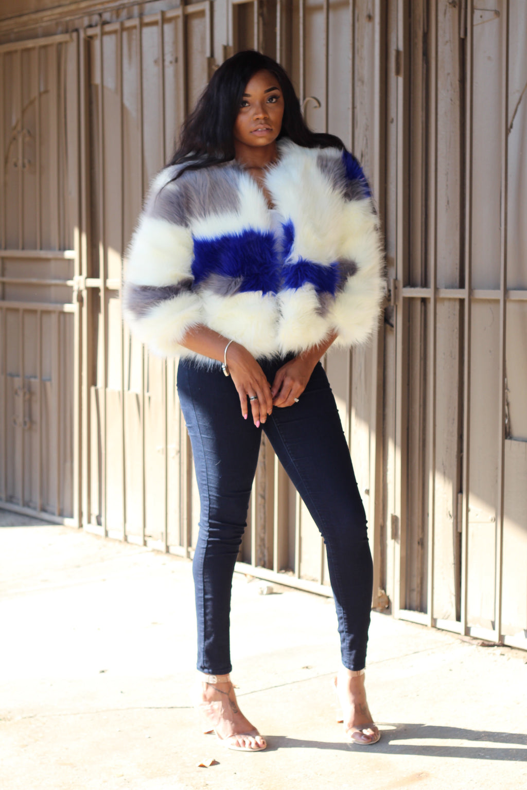 Ice Me Out Faux Fur