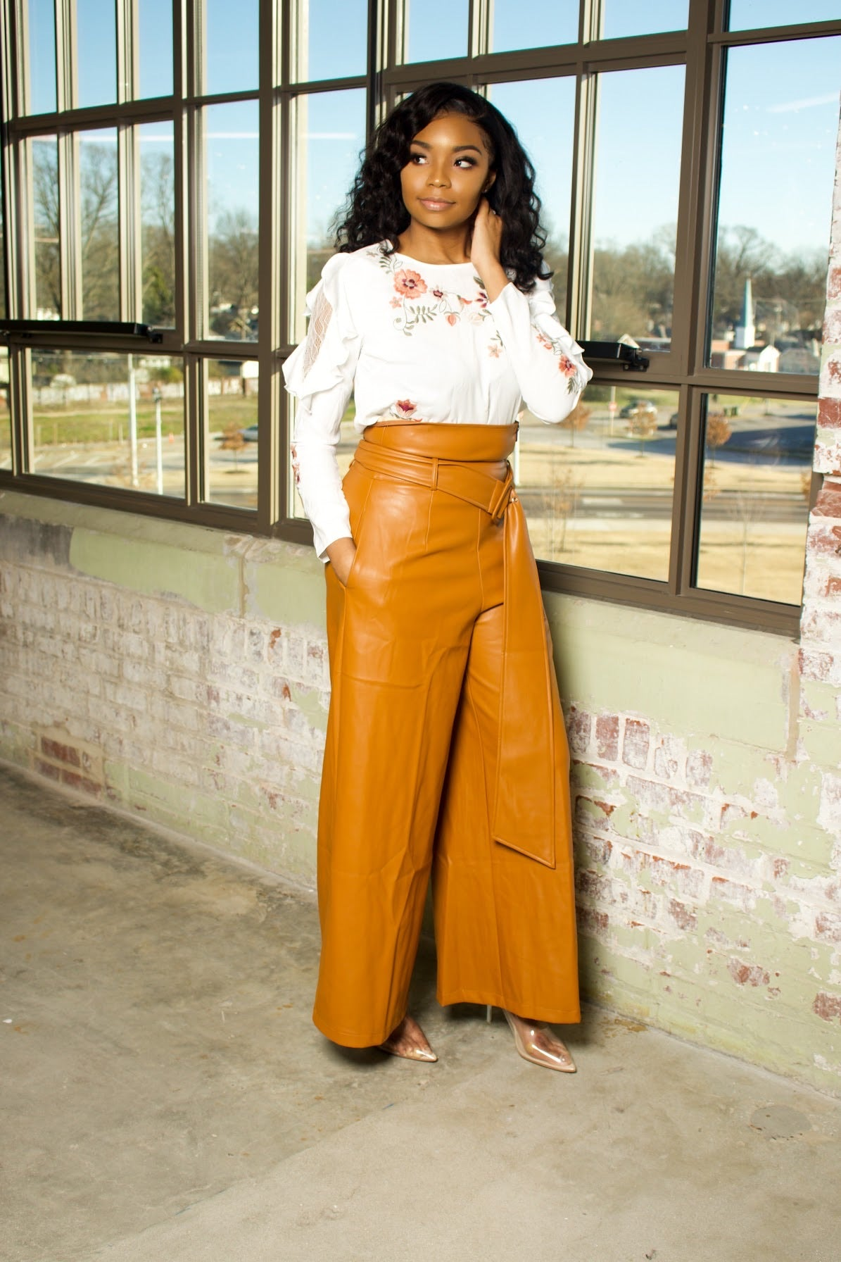 In Charge | Faux Pants
