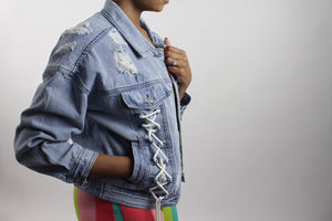 Load image into Gallery viewer, Twisted Denim | Jacket