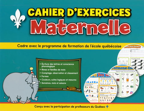 Cahier d'exercices - Maternelle