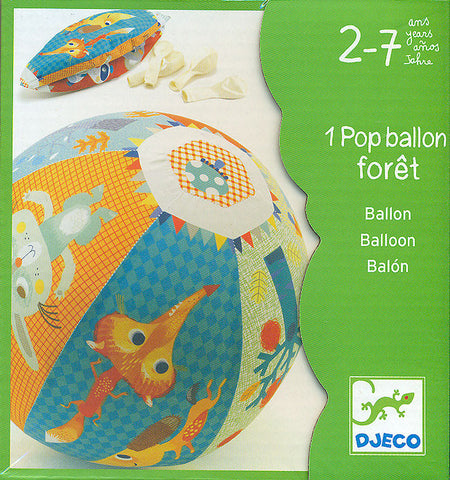 Pop ballon - Forêt