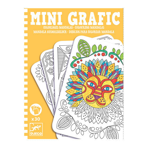 Mini grafic / Coloriages mandala