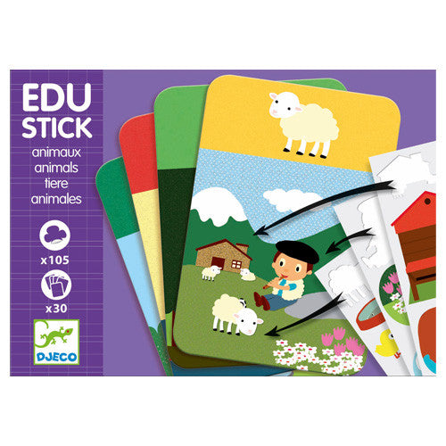 Edu stick - animaux