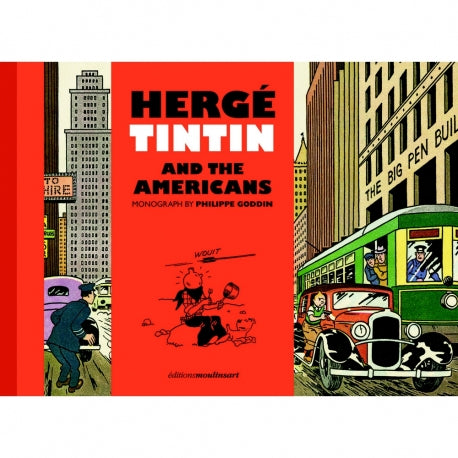 Hergé - Tintin and the Americans