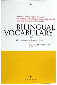 Bilingual Vocabulary for Governance Public Policy & Administration