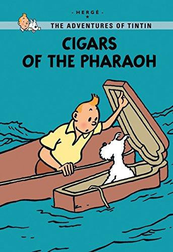 The adventures of Tintin young reader: Cigars of the pharaon