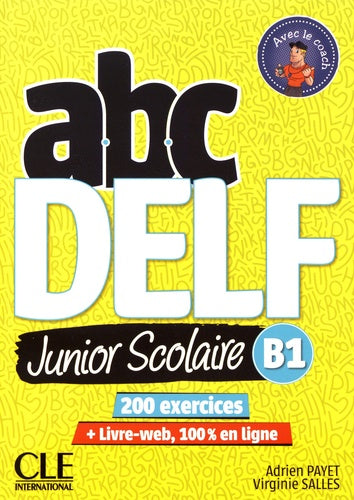 ABC DELF Junior scolaire B1 + 1 DVD