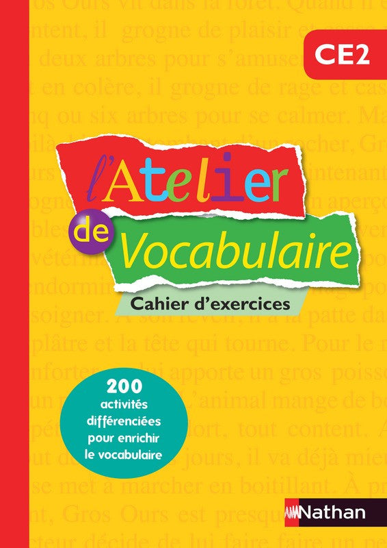 Atelier de vocabulaire