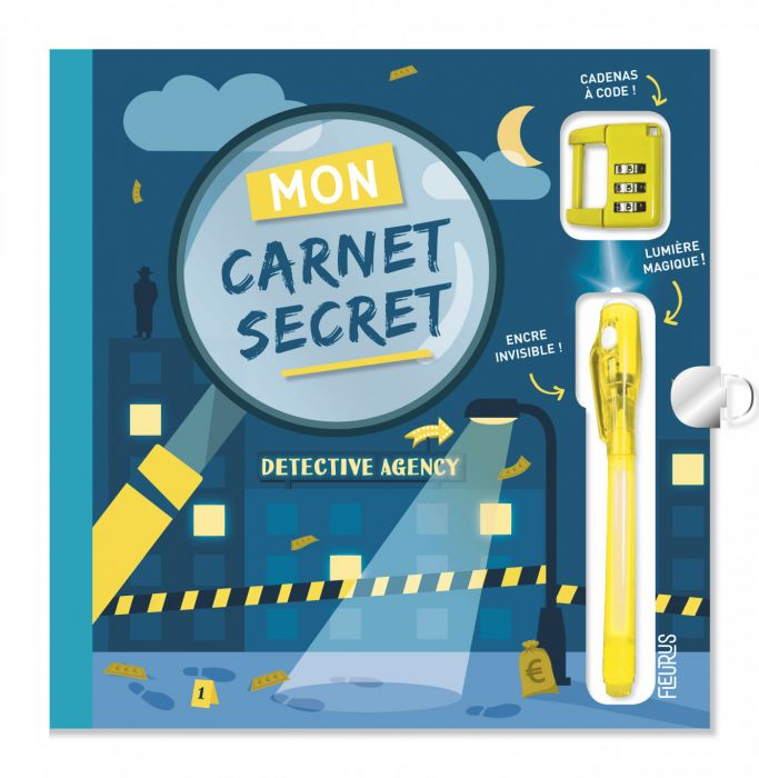 Mon carnet secret - Detective agency