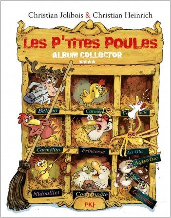 Les p'tites poules - Album collector 4