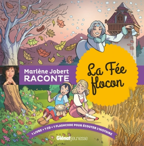 Marlène Jobert raconte La Fée flocon + CD