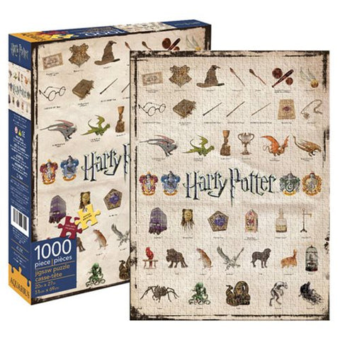 Puzzle - Harry Potter - Icônes
