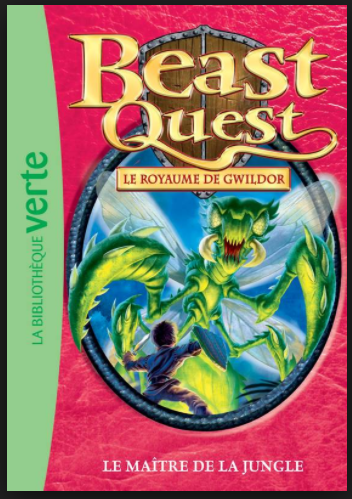 Beast Quest T34 - La maîtresse de la jungle