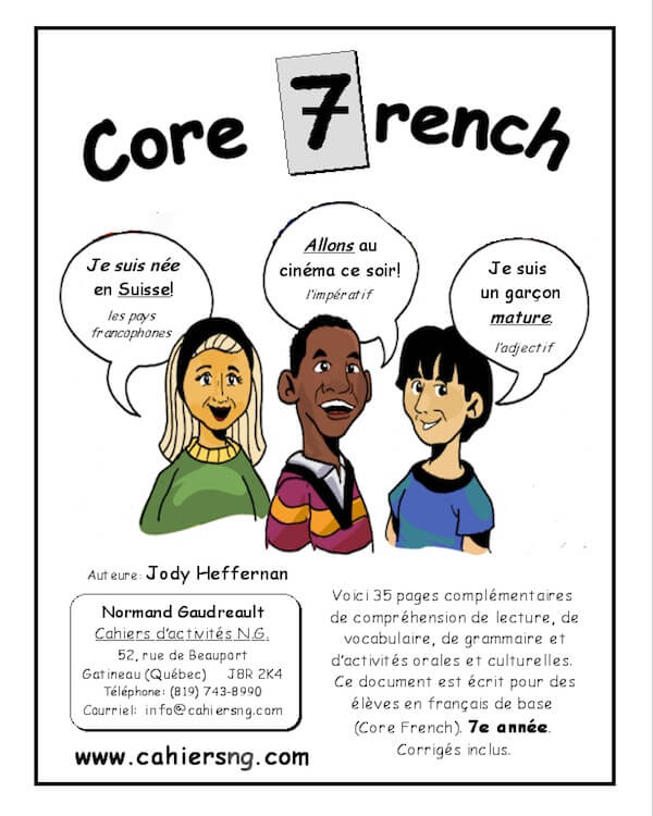 Core French - 7e