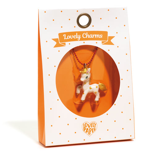 Collier charms - Poney
