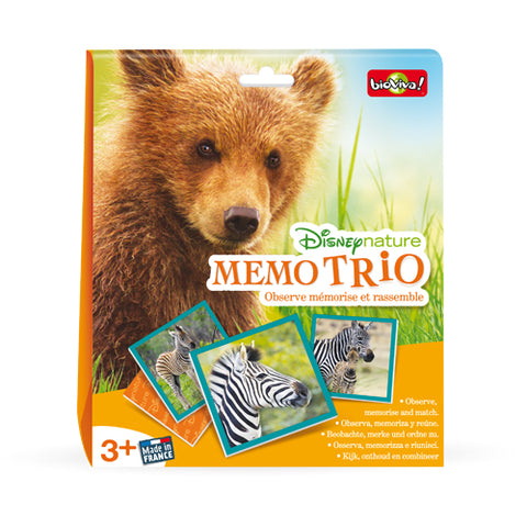Disney nature - Mémo trio