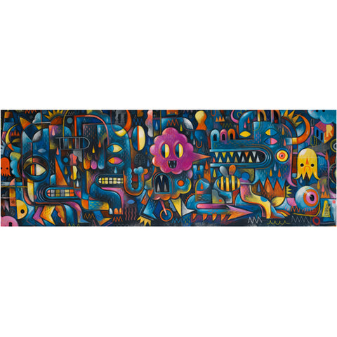 Puzzle gallery - Monster wall - 500 pièces