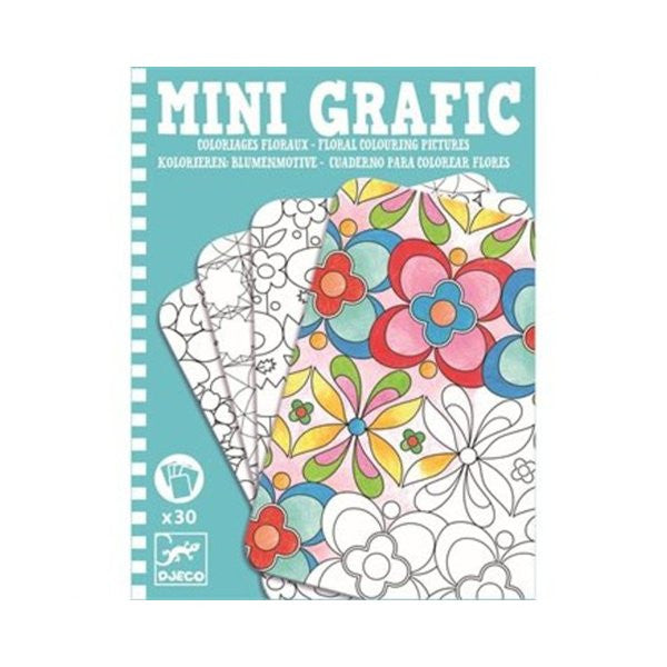 Mini grafic / Coloriages floraux