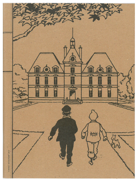 Carnet de notes Tintin - Moulinsart