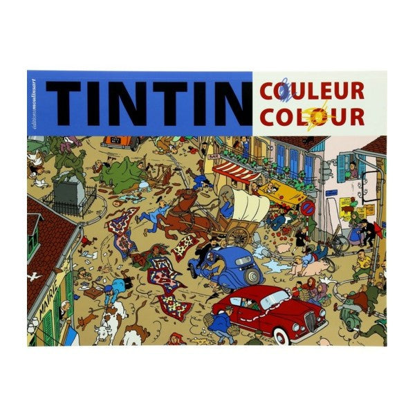 Tintin couleur - Album à colorier
