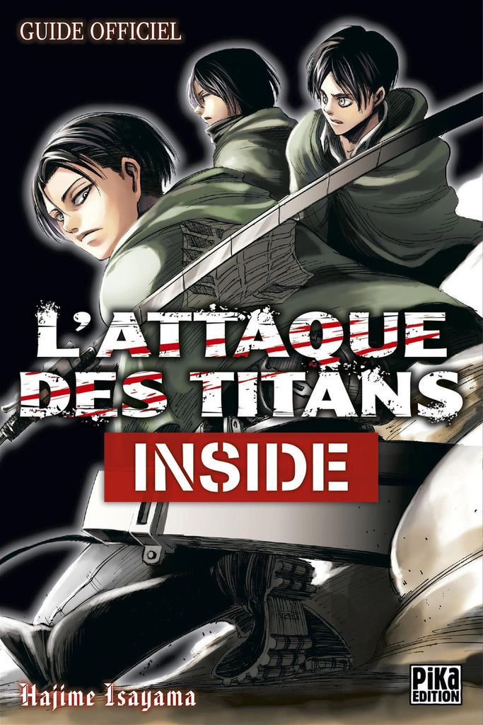 L'attaque des titans - Tankobon Inside - Guide officiel