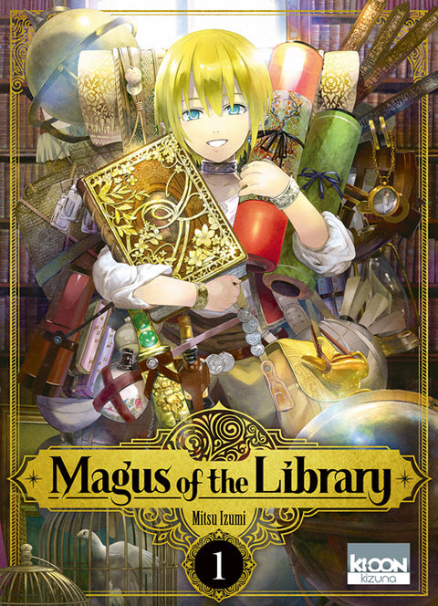 Magus of the library T01