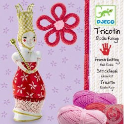 Tricotin - Elodie rouge