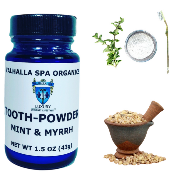 Tooth Powder with Mint & Myrrh Gum