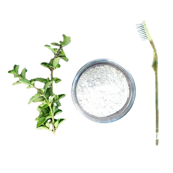 Natural Toothpowder with Mint & Myrrh Gum Powder