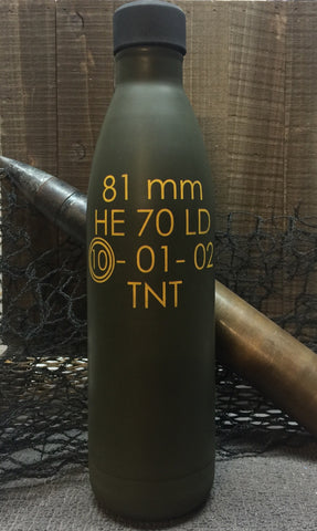 81mm Mortar Round RTIC Bottle (CLOSE OUT SALE)