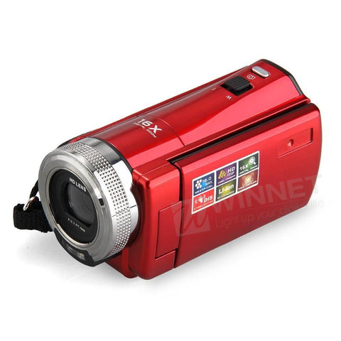 Digital Video Camcorder HD 720P, 16X Zoom
