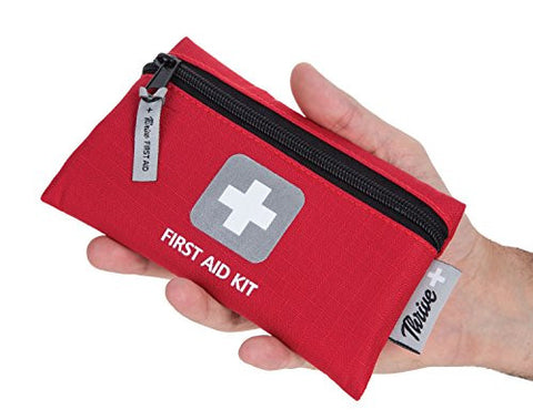 First Aid Kit – 66 Pieces – Survival, Hiking, Backpacking, Camping, Travel