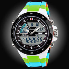Mens Sports Watch 50M Waterproof Shockproof