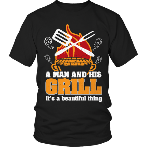 A Man And His Grill