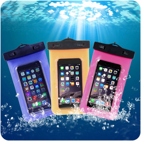 Underwater Cell Phone Pouch, PVC Waterproof