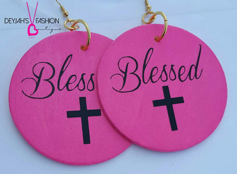 """Blessed"" Earrings"