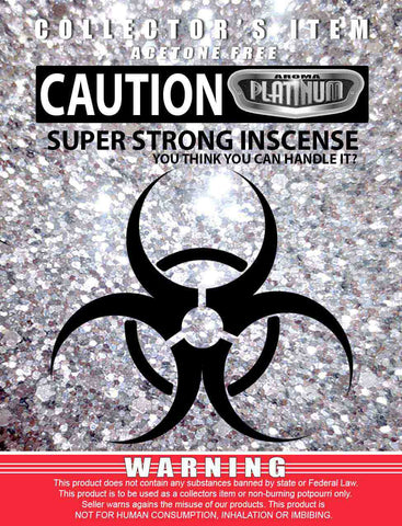 Caution Super Strong - Platinum