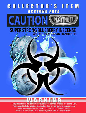 Caution Super Strong Blueberry - Platinum