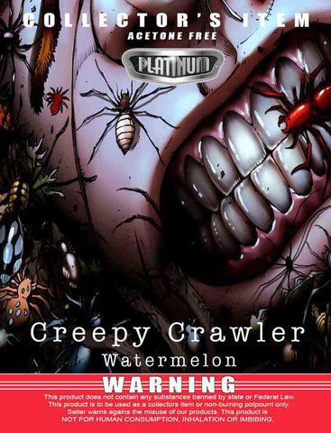 Creepy Crawler Watermelon - Platinum