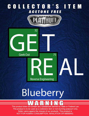 Get Real Blueberry - Platinum