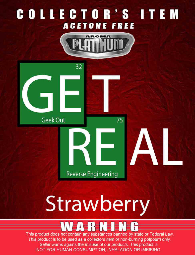 Get Real Strawberry - Platinum