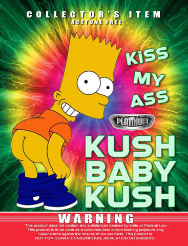Kiss My Ass Kush Baby Kush - Platinum