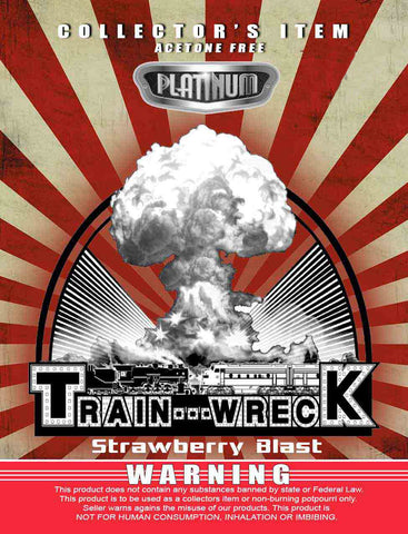Train Wreck Strawberry Blast - Platinum