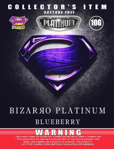 Bizarro Blueberry - Platinum