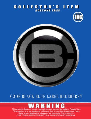 Code Black Blueberry - Classic