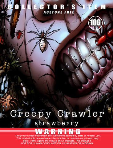 Creepy Crawler Strawberry - Classic