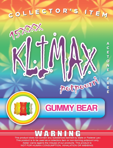 Klimax Gummy Bear – Platinum
