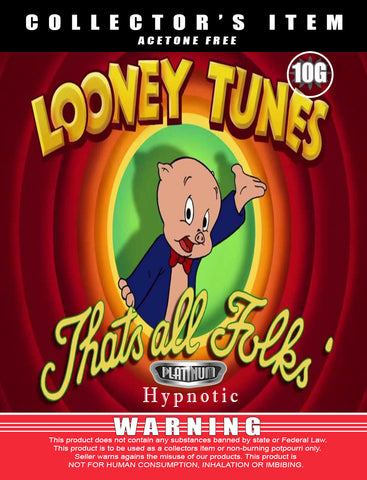 Looney Tunes That's All Folks Hypnotic - Platinum