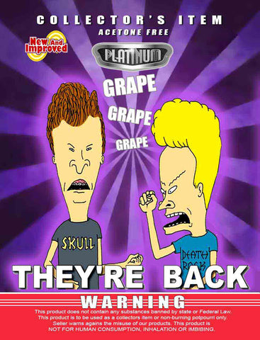 They're Back Grape - Platinum